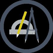 Geometra icona